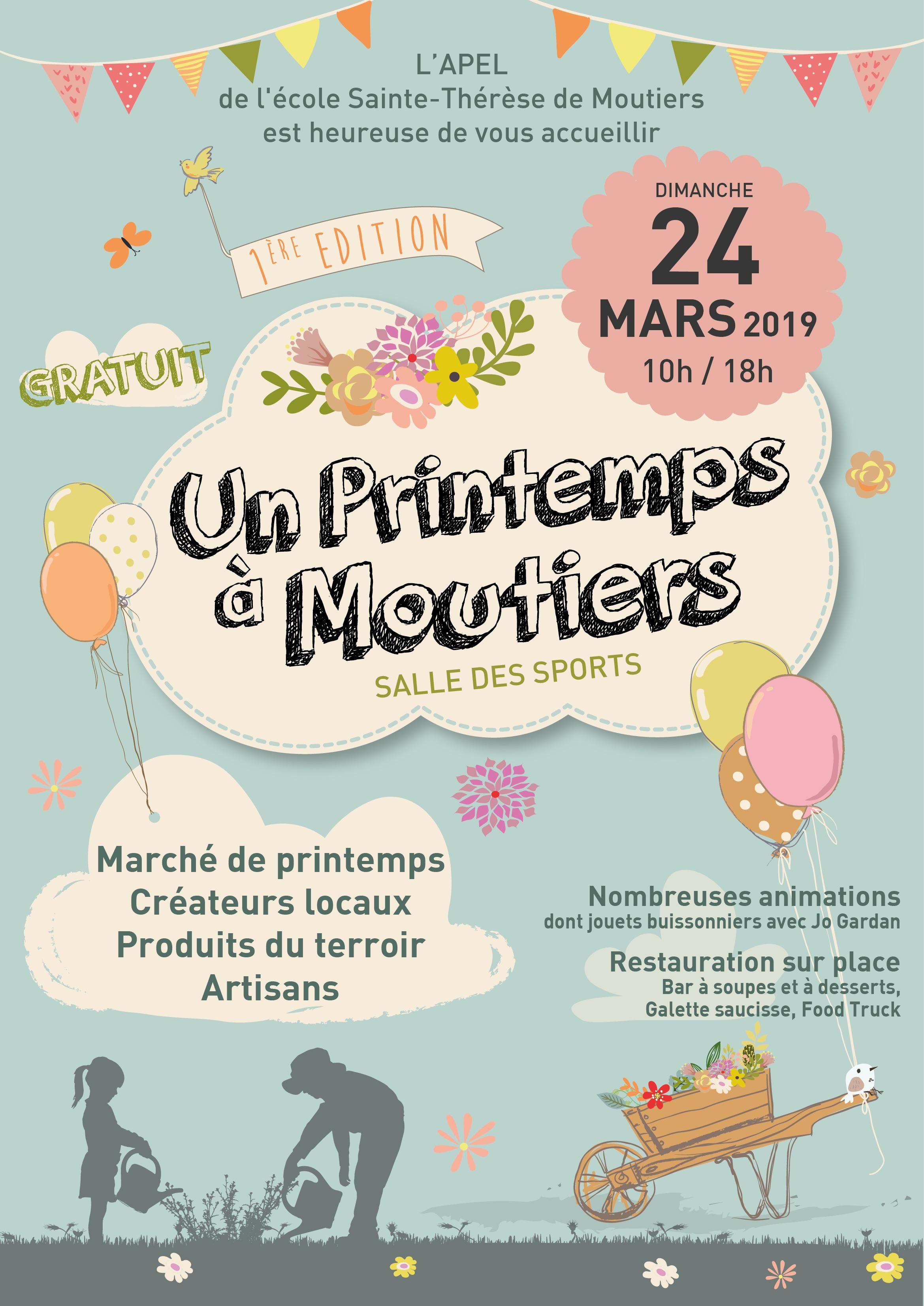 Un printemps à Moutiers