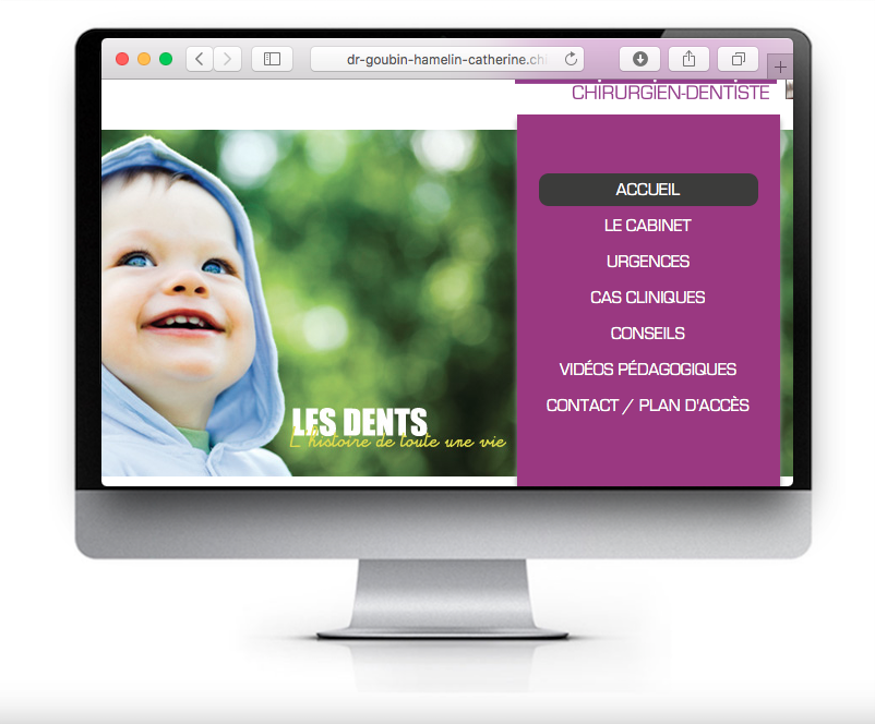 Site web dentiste